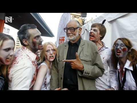 George A Romero, father of zombie movies, dies at 77
