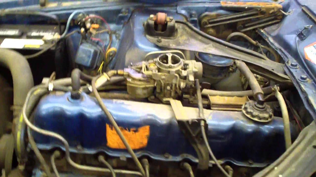 medium resolution of 1972 maverick grabber 250ci inline six motor