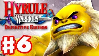 Darunia Boss at Death Mountain! - Hyrule Warriors: Definitive Edition - Gameplay Walkthrough Part 6