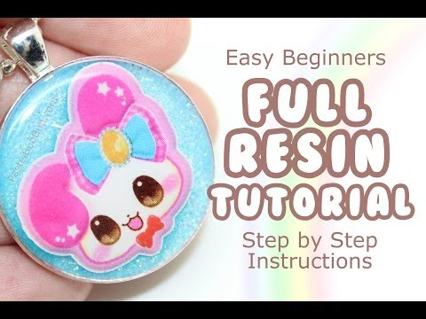 HOW TO - Make Resin Charms Full Tutorial
