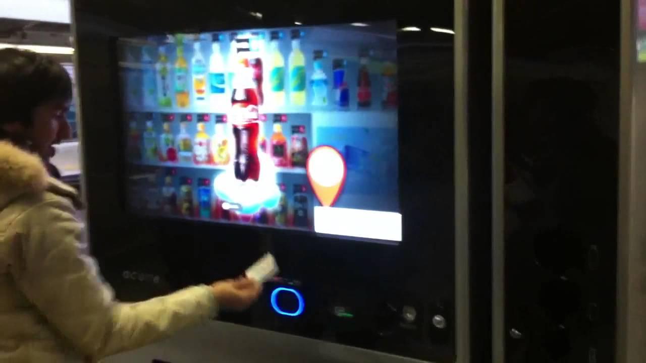 Future Vending Machines Acure Youtube