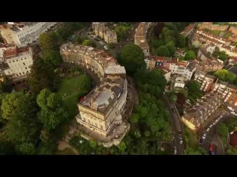 Clifton Bristol. Drone footage.