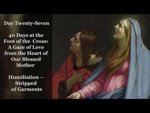 Day Twenty-Seven – Humiliation – Stripped of Garments