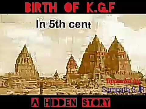 Birth Of KGF History