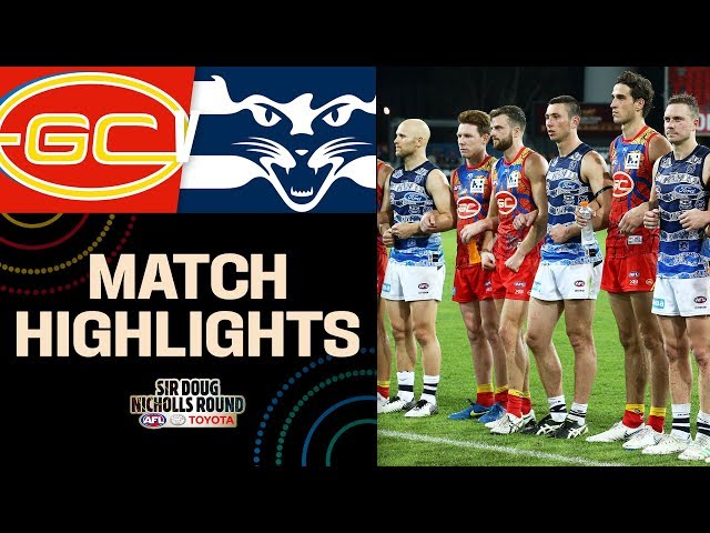 Gold Coast v Geelong Highlights | Round 10, 2019 |  AFL