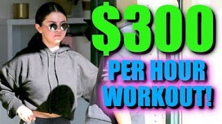 Selena Gomez Keeps Fit With $300 Per Hour Hot Pilates Class