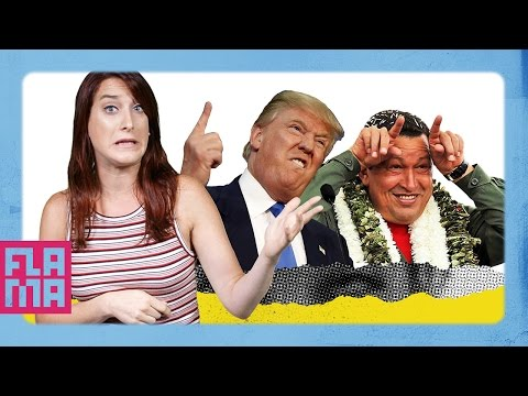 Reasons Donald Trump & Hugo Chavez Are The Same - Joanna Rants