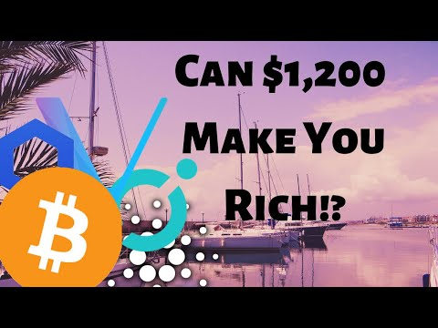 Can $1,200 Make You A Cardano Millionaire, My Top 5 Crypto Picks For 2020