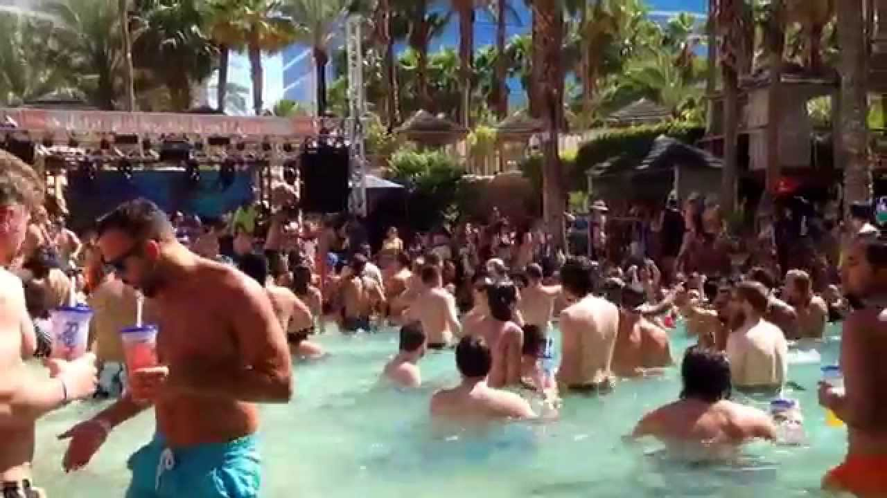 Hard Rock Las Vegas Pool Party