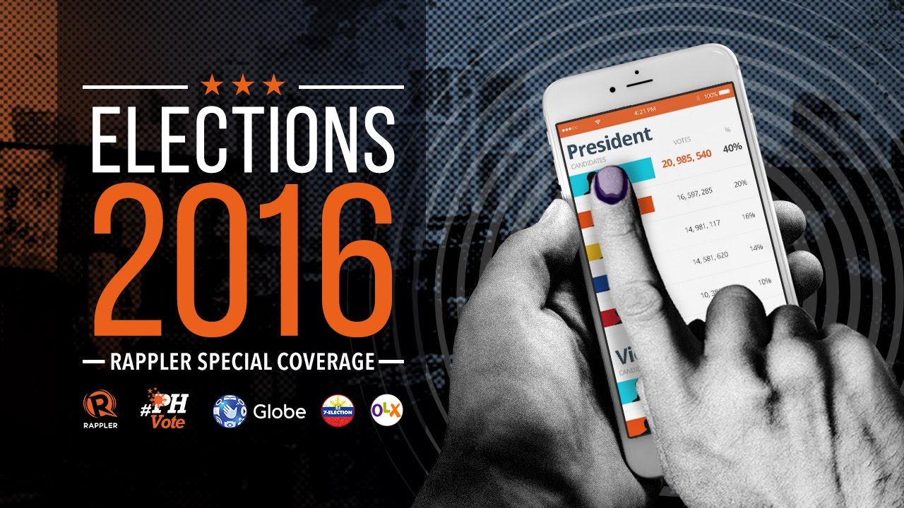 PHVote news updates: 2016 Philippine election results, May 9