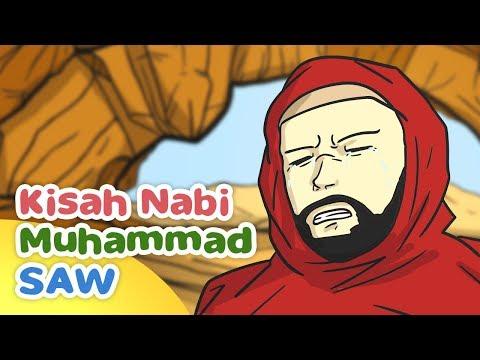 Kisah Nabi Muhammad SAW Abu Bakar Tergigit Ular di Gua Tsur - Kartun Anak Muslim Indonesia