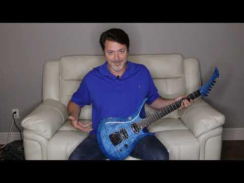 Singtall Serenghetti Blue Guitar Day
