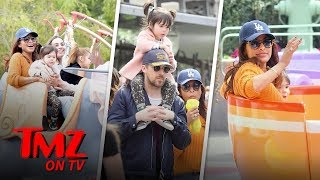 Eva Mendes & Ryan Gosling Take Their Daughter To Disneyland | TMZ TV