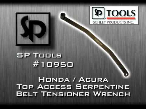 HONDA//ACURA SERPENTINE BELT TENSIONER TOOL Schley Sch10950