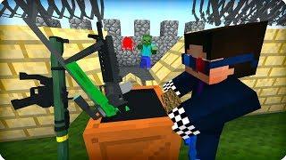 Чиним базу после атаки зомби [ЧАСТЬ 5] Зомби апокалипсис в майнкрафт! - (Minecraft - Сериал)