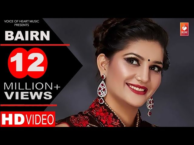 ✓ BAIRN | Vickky Kajla, Sapna Chaudhary | New Most Popular Haryanvi Songs 2016