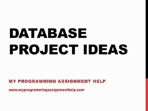 Database Project Ideas (Top Best, Unique, Latest, Innovative ...