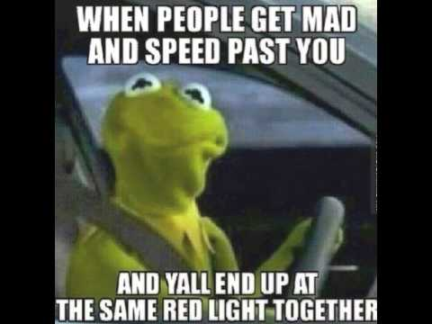 Kermit VoiceOver: When People Get Mad and Speed Past You