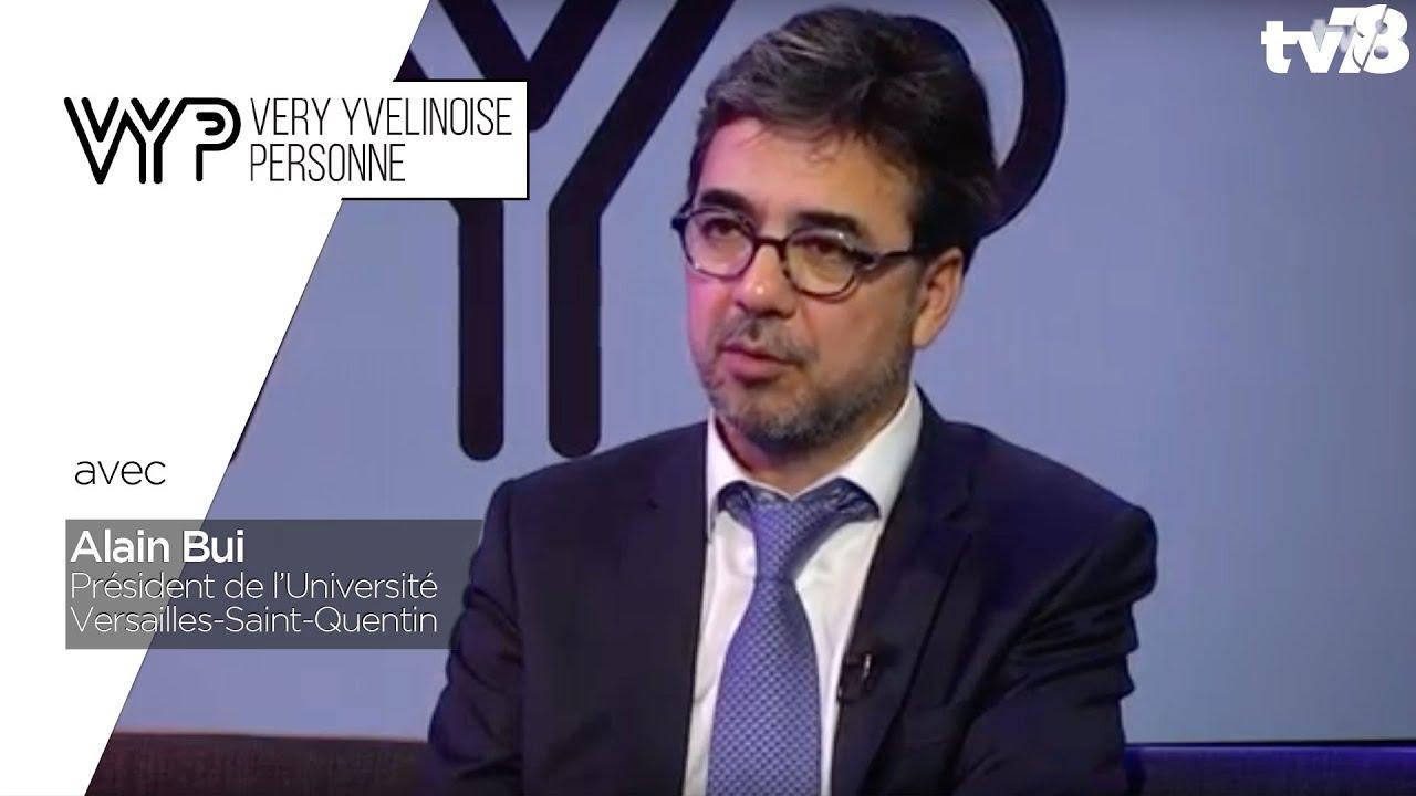 VYP. Alain Bui, président de l'UVSQ