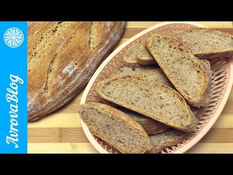 Хлеб на закваске из пшеничной муки 2-х сортов
