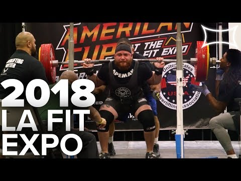 2018 Los Angeles Fit Expo!