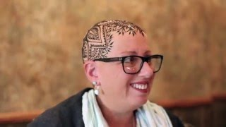 Henna artist gives cancer and alopecia patients crowns of beauty.
