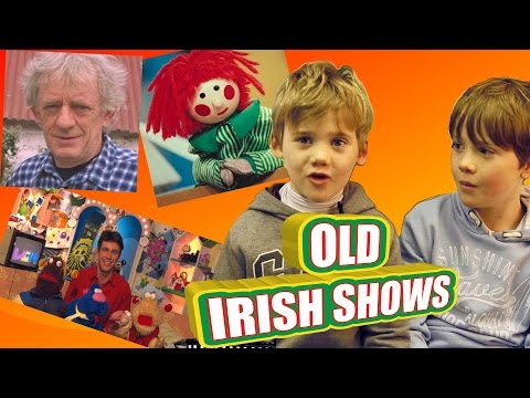Irish Kids Watch 'Old Irish TV s'  Glenroe, Bosco, The Den