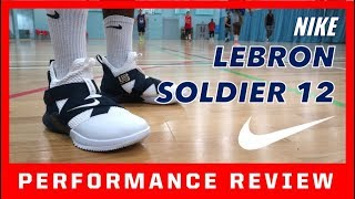 NIKE LEBRON SOLDIER 12 PERFORMANCE REVIEW