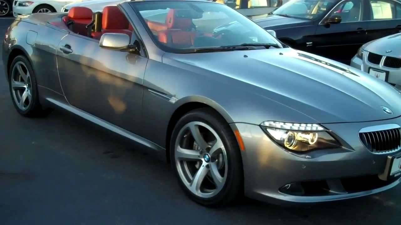 2010 bmw 650i convertible sport navigation manheim. Black Bedroom Furniture Sets. Home Design Ideas