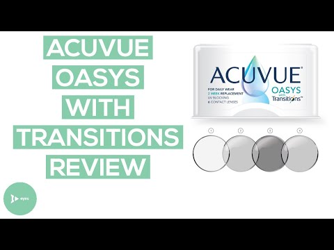 Acuvue Oasys With Transitions On An Eye Doctor's Brown Eyes 👀