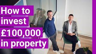I've got £100k aฑd I'm ready to invest...what do I do next?   Property Hub