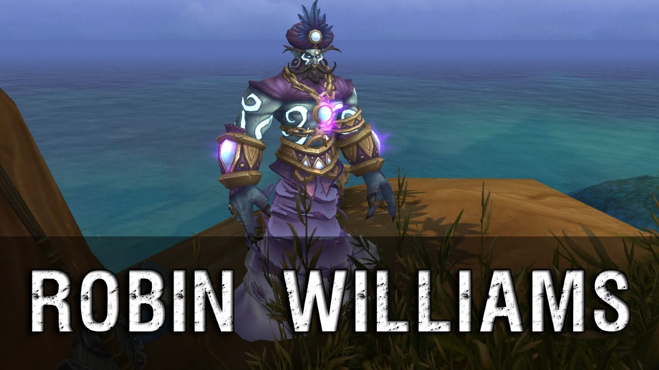 Robin Williams in World of Warcraft YouTube