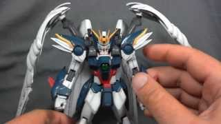 Gundam Review: MG Wing Gundam Zero Custom