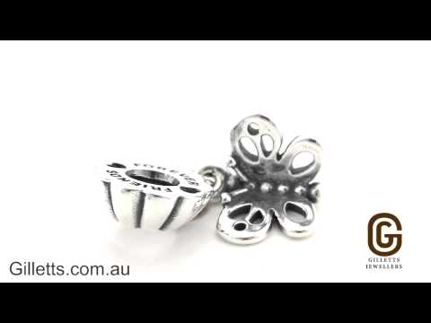 83694e1b1 Pandora Forever Friends Two Piece Butterfly Dangle Charm - Pandora code  790531 - YouTube
