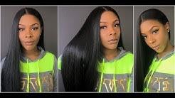 Bobbi Boss Human Hair Blend Swiss Lace Front Wig - MBLF180 Dayana  * HairSoFlyShop *