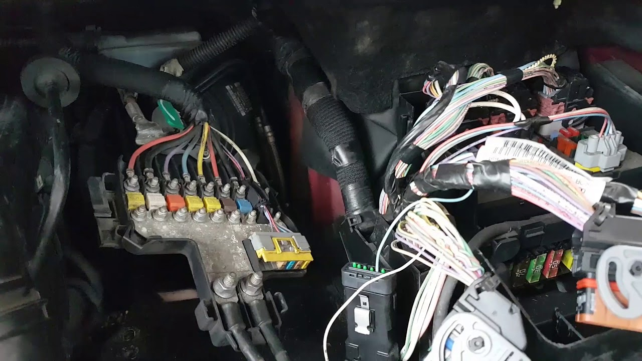 Citroen C4 Picasso 2008 Engine ABS ESP EPB Gearbox faults