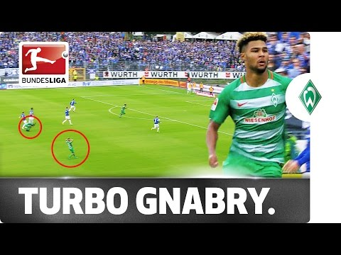 Power Serge - Gnabry Surprises Own Teammates With His Pace