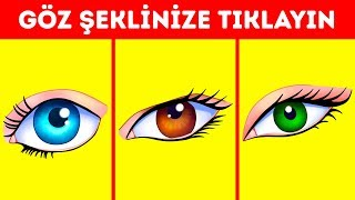 Gözlerinizin Rengi Baskın Karakterinizi Açığa Çıkarıyor