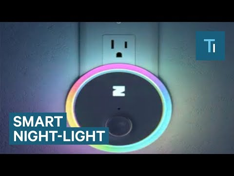 This Is What The Night Light Of The Future Looks Like
