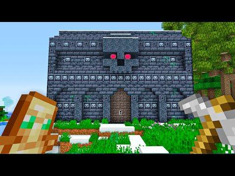 СТРАШНОЕ МАЙНКРАФТ ПОДЗЕМЕЛЬЕ  - Хардкорный майнкрафт - Minecraft 1.16.5 #2