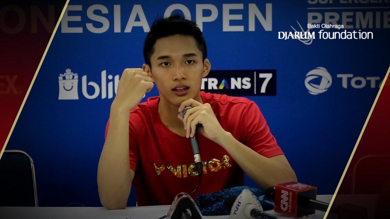Interview Jonatan Christie INA After Match VS Hsu Jen Hao TPE
