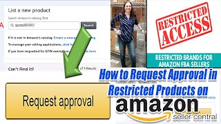 Restricted on amazon Seller Central - How to get ungated and request approval to sell on Amazon