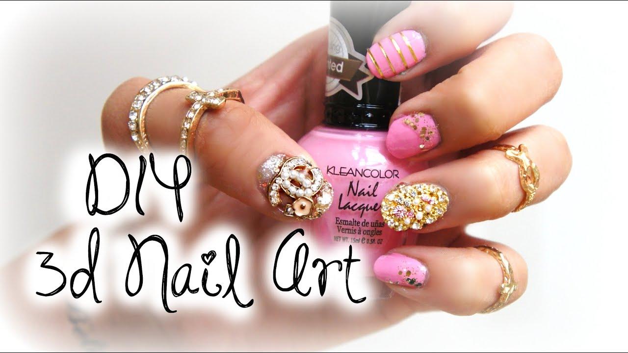 Youtube 3d Nail Art