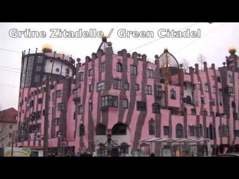 Views Around the City of Magdeburg, Saxony-Anhalt, Germany -