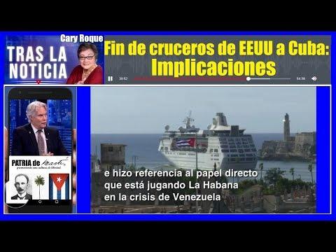 Fin de cruceros de EEUU a Cuba: Implicaciones