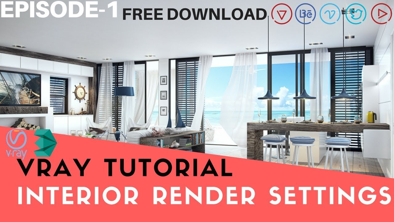 3ds max 2017 vray render settings pdf