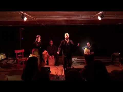 January 2018 El Rincón Flamenco Shows featuring Carola Zertuche and Nino de los Reyes