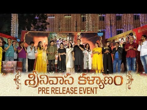 Srinivasa Kalyanam Movie Pre Release Event