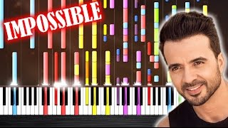 Luis Fonsi - Despacito ft. Daddy Yankee - IMPOSSIBLE PIANO by PlutaX