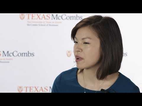 Dean Jay Hartzell and Jennifer Wang Q&A | McCombs School of Business